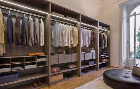 Гардеробные комнаты под заказ, изготовление гардеробных в ми.